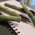 witch finger pen notebook 2
