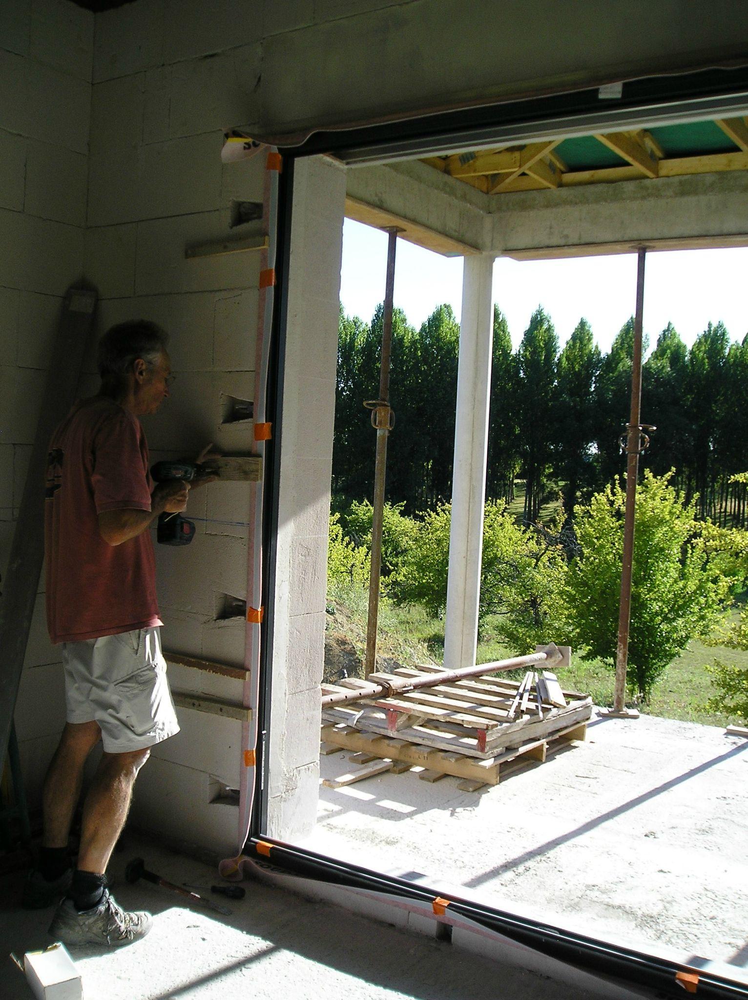 Bien connu Menuiseries, couverture terrasse - Notre maison dans le Quercy Blanc JE15