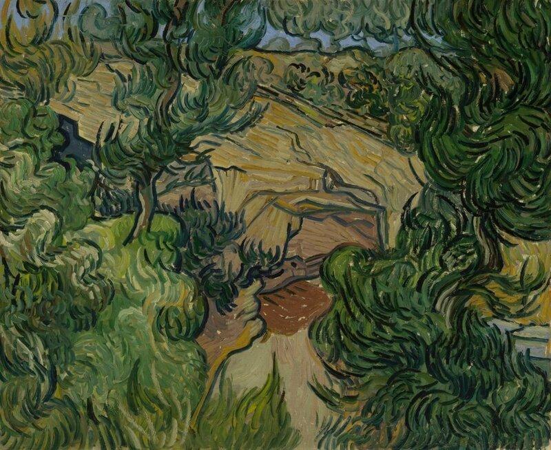 Vincent-van-Gogh-Entrée-dans-une-carrière-Saint-Rémy-de-Provence-mi-juillet-1889