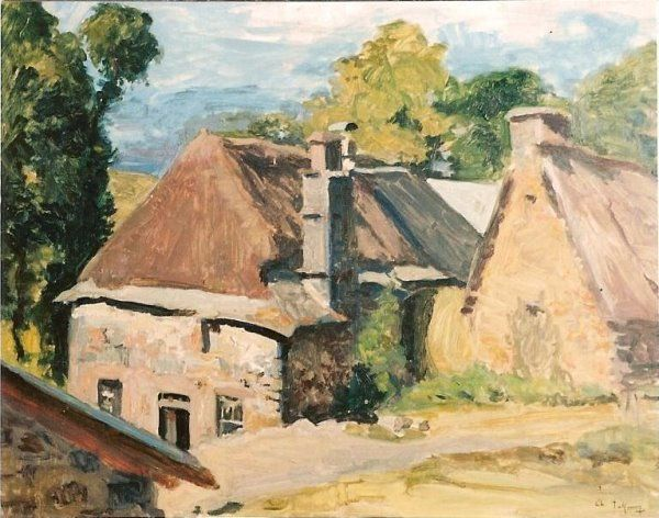 Coulange__Cantal____40x50_cms