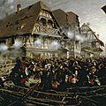 Detaille, La charge du 9e cuirassiers à Morsbronn