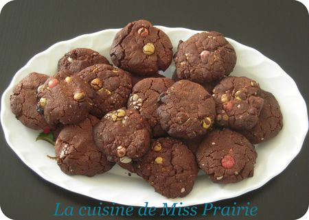 Cookies aux Smarties de Julie