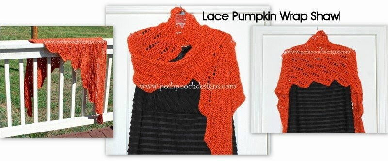 Lace Pumpkin Wrap