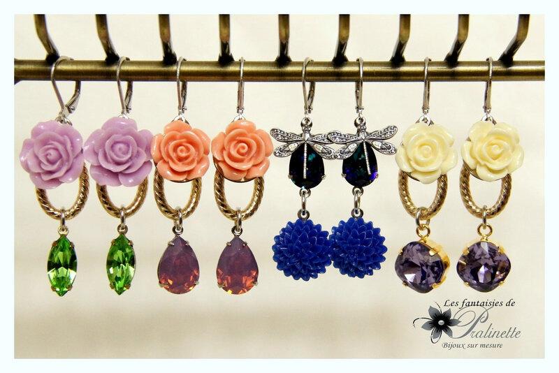 bijoux-mariage-soiree-temoin-boucles-d-oreilles-clous-puces-berenice-cristal-et-fleurs-en-résine