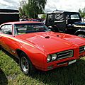 Pontiac tempest gto hardtop coupe - 1969