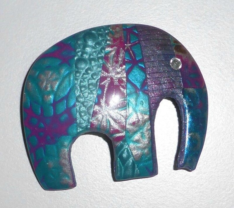 SOLY CAT - BROCHE ELEPHANT