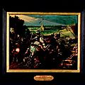 La bataille d'arques. attribué à adriaen van stalbemt (1580-1662). fin xvie-début xviie siècles