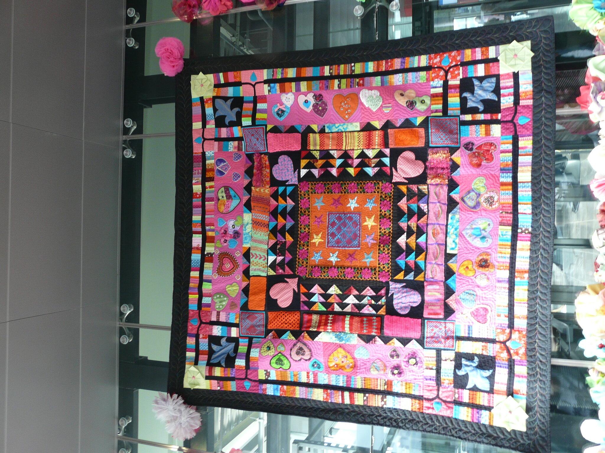 joëlle tissus patchwork