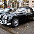 Jaguar XK 150 roadster (1958-1961)(Retrorencard novembre 2010) 01