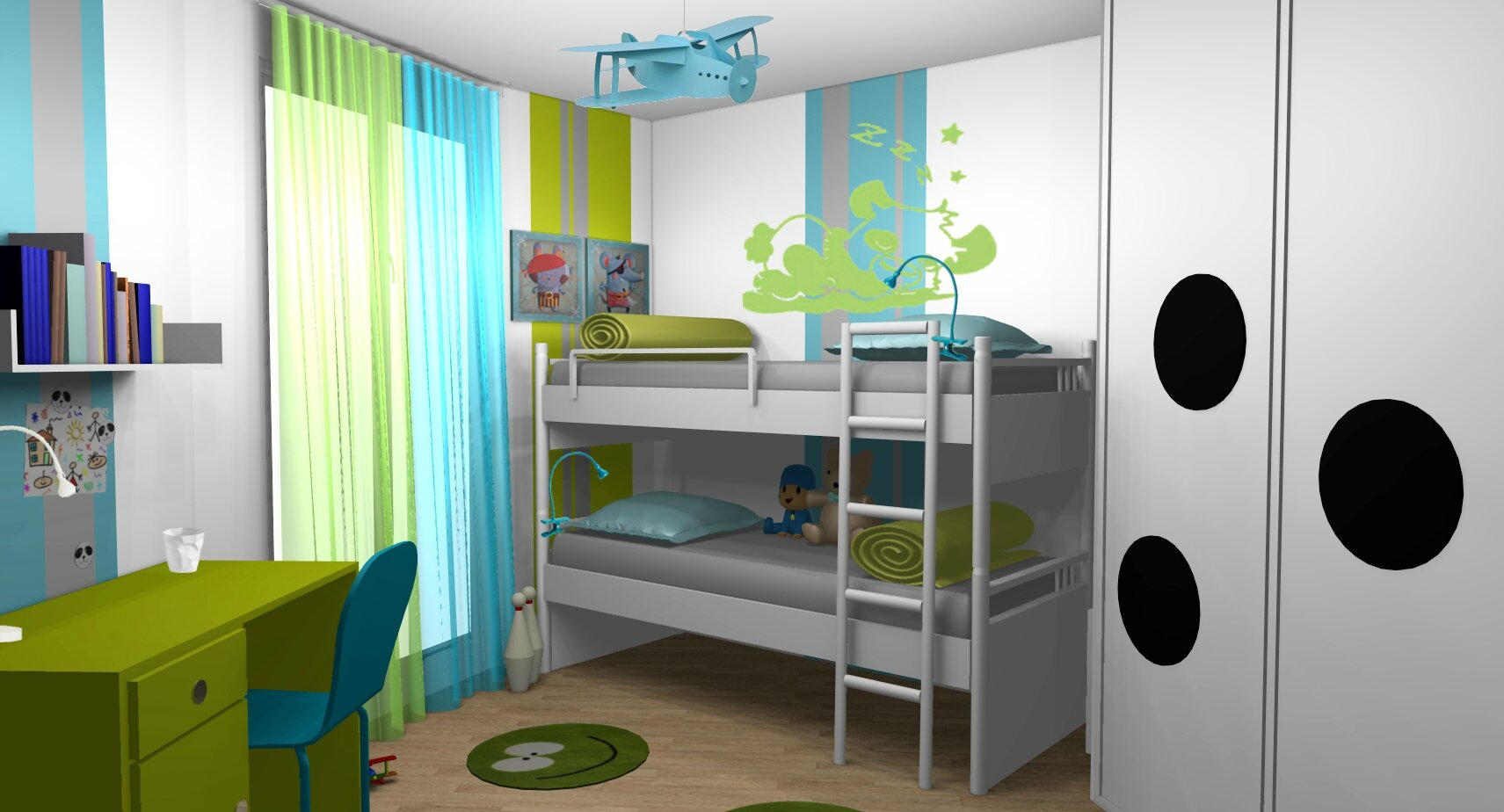 Chambre garcon 2 ans for Chambre garcon 7 ans