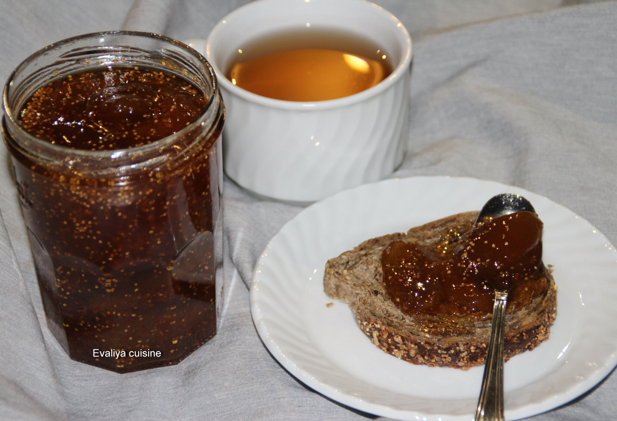 Evaliya cuisine - Confiture de figues blanches ...