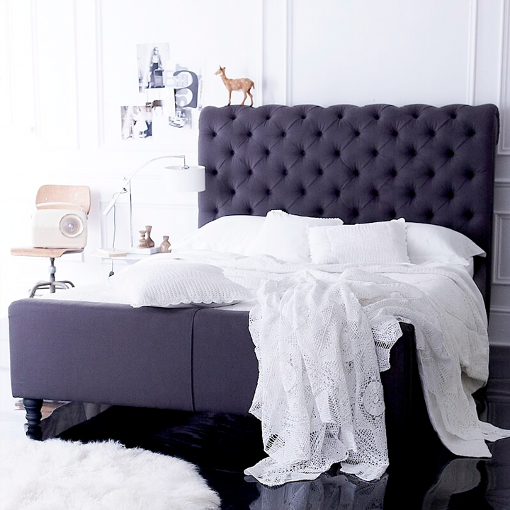 purple-bed