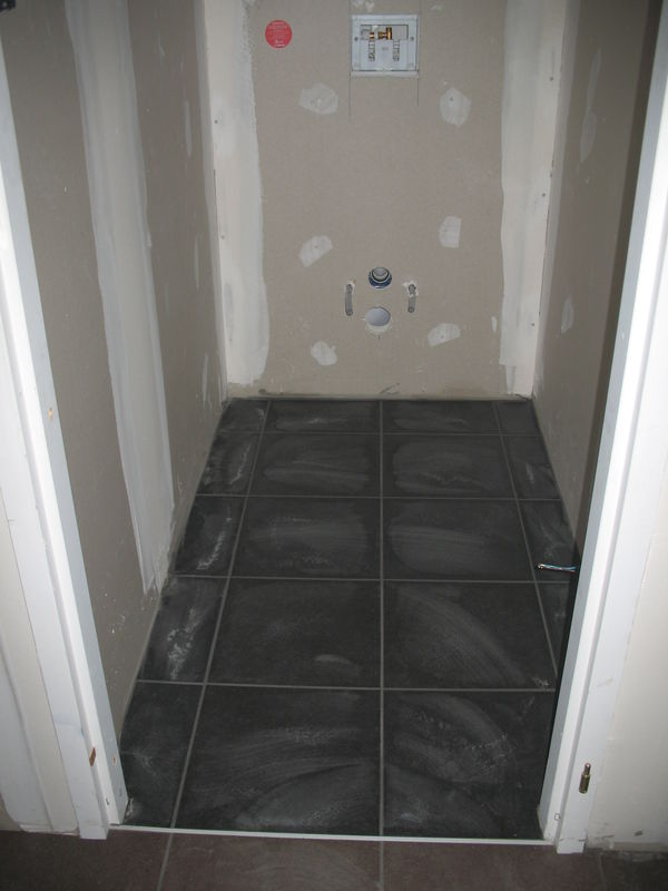 Nettoyage du carrelage ma jolie mob for Carrelage wc gris