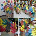 Carnaval 2011 arbres Matisse (filles)