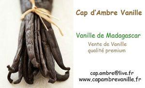 Cap Ambre Vanille