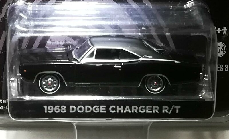 Dodge Charger RT de 1968 (Bullitt) Greenlight 01