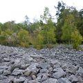 2009 10 07 Une 'coulée' de pierre entre Montgiraud et le Bouchat (4)