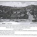 Wasmes - panorama avec terril - carte postale