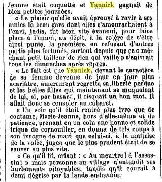 Légende bretonne Yannick Kevelec 1905_4