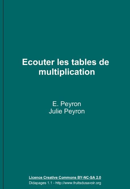 R viser les tables de multiplication ppre au coll ge - Matou matheux table de multiplication ...
