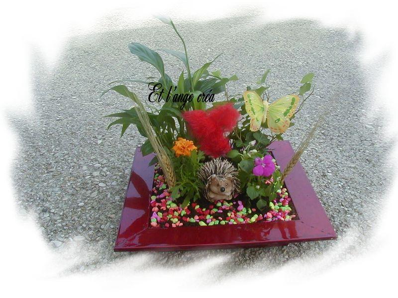 composition florale du printemps h risson photo de composition florale le blog de l 39 ange cr a. Black Bedroom Furniture Sets. Home Design Ideas