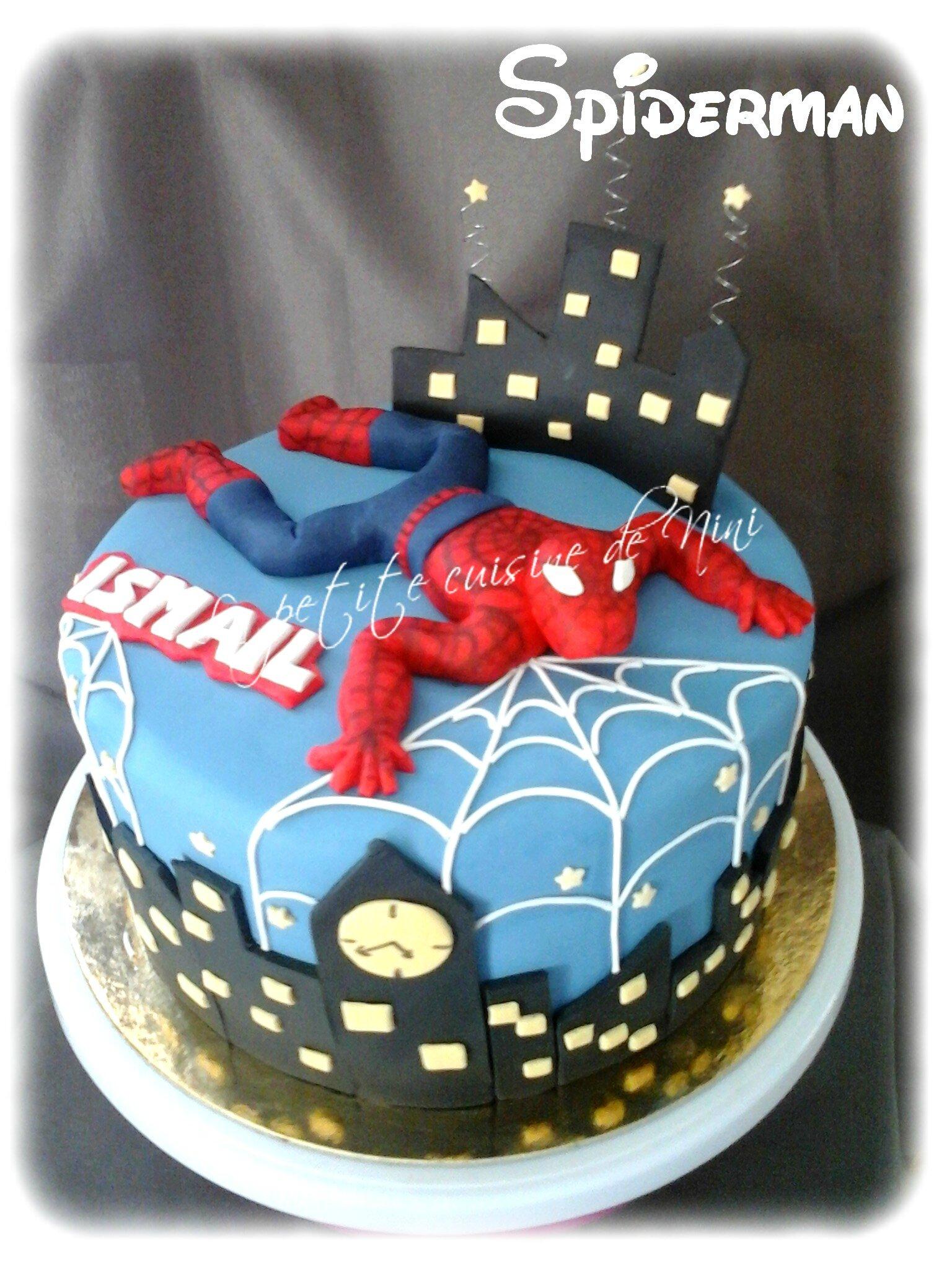 La petite cuisine de nini - Deco anniversaire spiderman ...