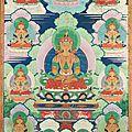 Amitayus, chine, 18ème siècle, règne de qianlong
