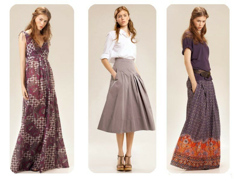 robe longue ethnique chic la mode des robes de france. Black Bedroom Furniture Sets. Home Design Ideas