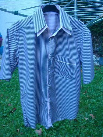 chemise seb rayée