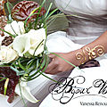 Joli bracelet mariage avec perle de nacre, doré or fin