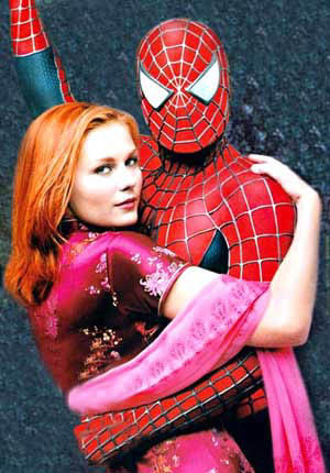 Mary Jane Spiderman nackt