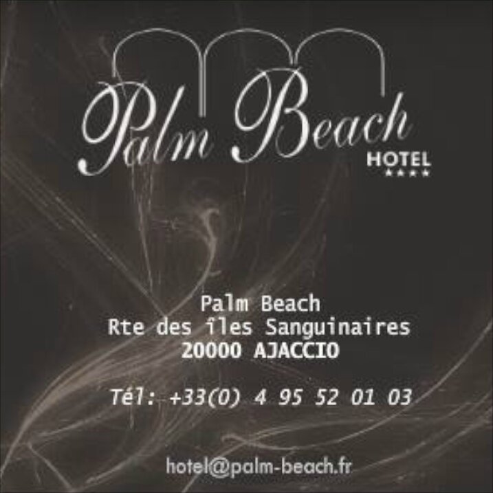 Palm Beach Carte de visite
