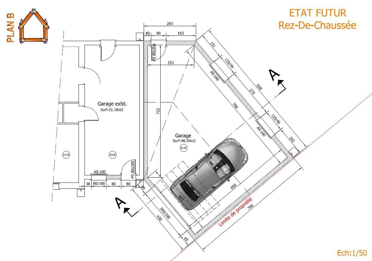 Construction d 39 un garage attenant l 39 habitation plan b - Construction d un garage ...