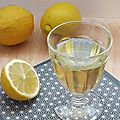...vin de citron... (facile et rapide)