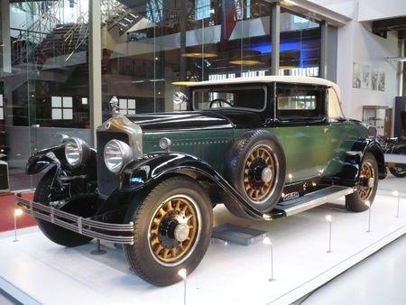 MINERVA type AE faux landaulet 1929 Bruxelles Autoworld (1)