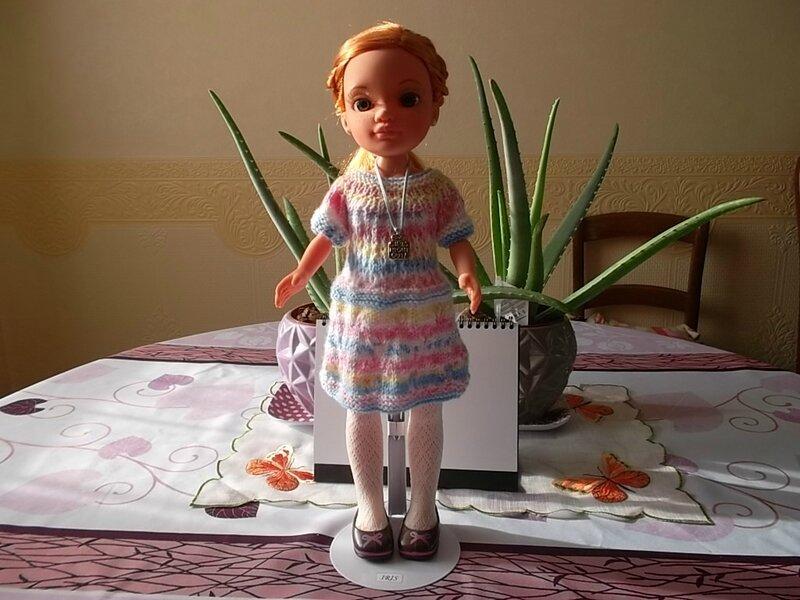 Iris désirait une nouvelle robe ( Myjanie )