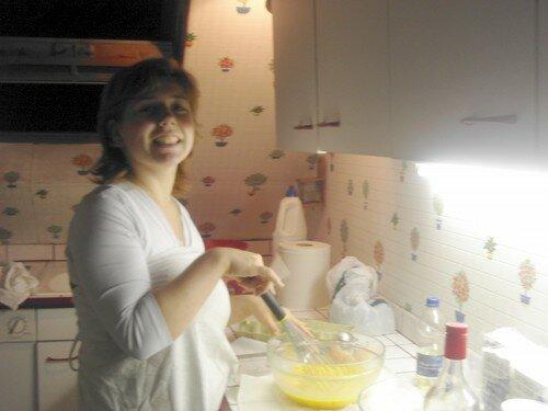 Crepes Party 28.08.06, Sandra, la cheve de la soirée!