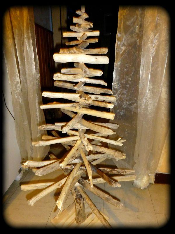 Sapin de noel la palette proven ale - Sapin de noel bois flotte ...