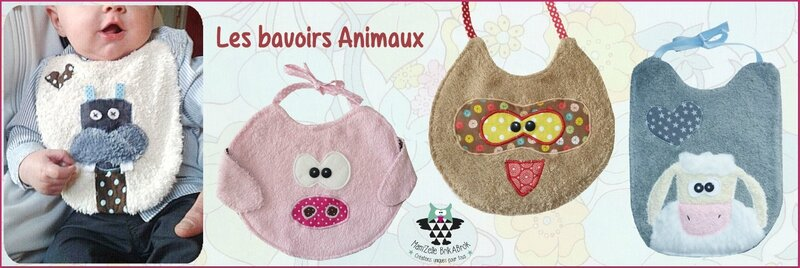 Bavoirs Animaux 2