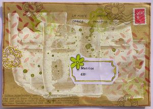 Mail Art Charlotte 1 Octobre 2012