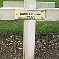 Bonneau clément (ardentes) + 03/02/1916 aix noulette (62)