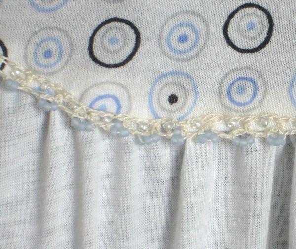bordure de perles