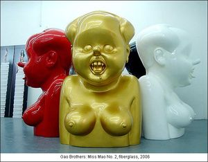 gao-brothers-miss-mao-no-number-2-two-los-angeles-duncan-millre-gallery-miller-exhibition-art-artists-show-live