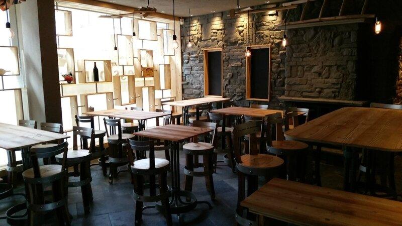 Mobiliers de cr ateur et accessoires agencement bar for Amenagement cuisine bar