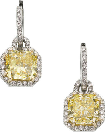 Fancy_Yellow_Diamond__Diamond__Platinum__Gold_Earrings