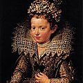 Frans pourbus the younger, portrait of eleonora of mantua as a child, c. 1605