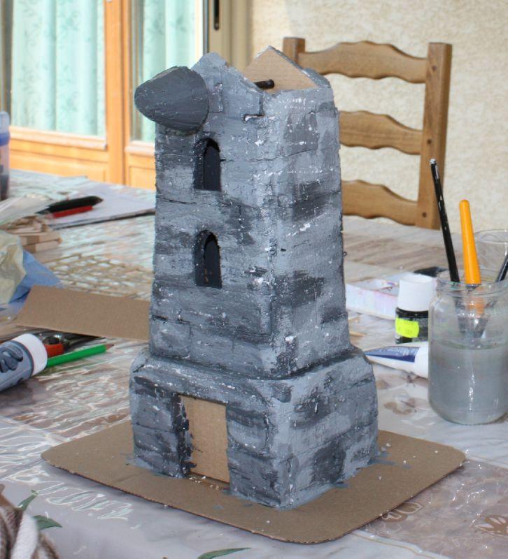 Maquette moulin vent aurcia cr ations for Moulin en bois pour jardin