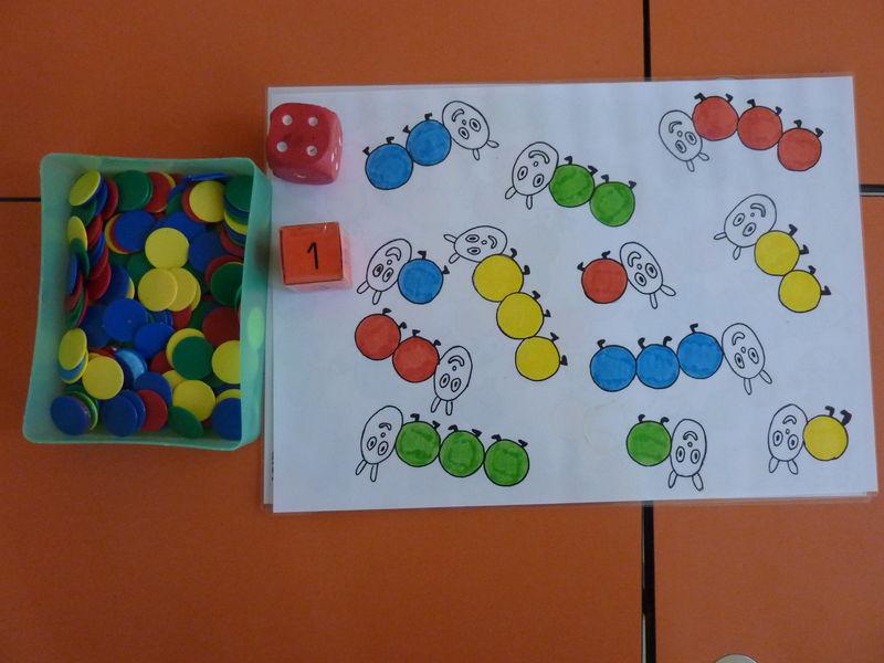 Fabuleux Jeu sur les couleurs et la construction du nombre - Photo de 1-EN  NG18