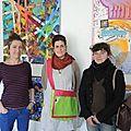Ouverture de l'art ty so avec Charlotte Pautré et Anne Villain de Sakanvoal