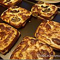 Croques forestiers et fromagers